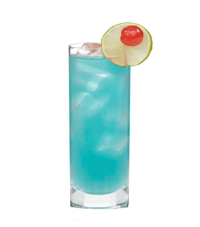 Blue cocktail  China Blue / Cocktail Recipes / Easy cocktails