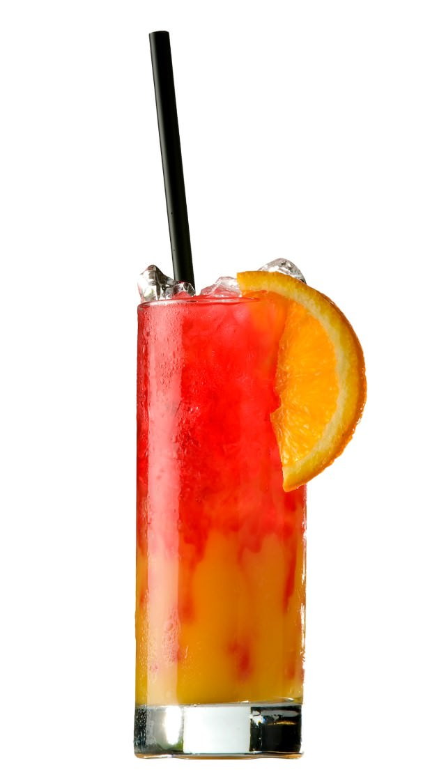 Tequila sunrise cocktail  Tequila Sunrise / Cocktail Recipes / Easy cocktails